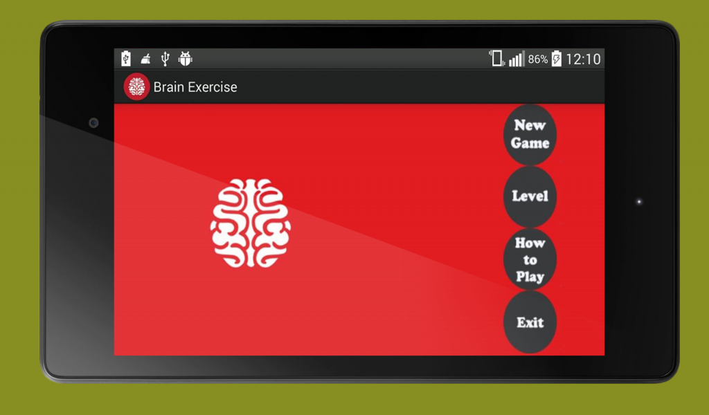 BrainExercise Tablet 7