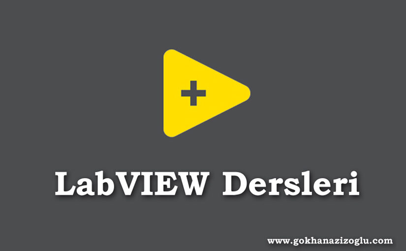 6.Ders LabVIEW Case Structures, One Button Dialog